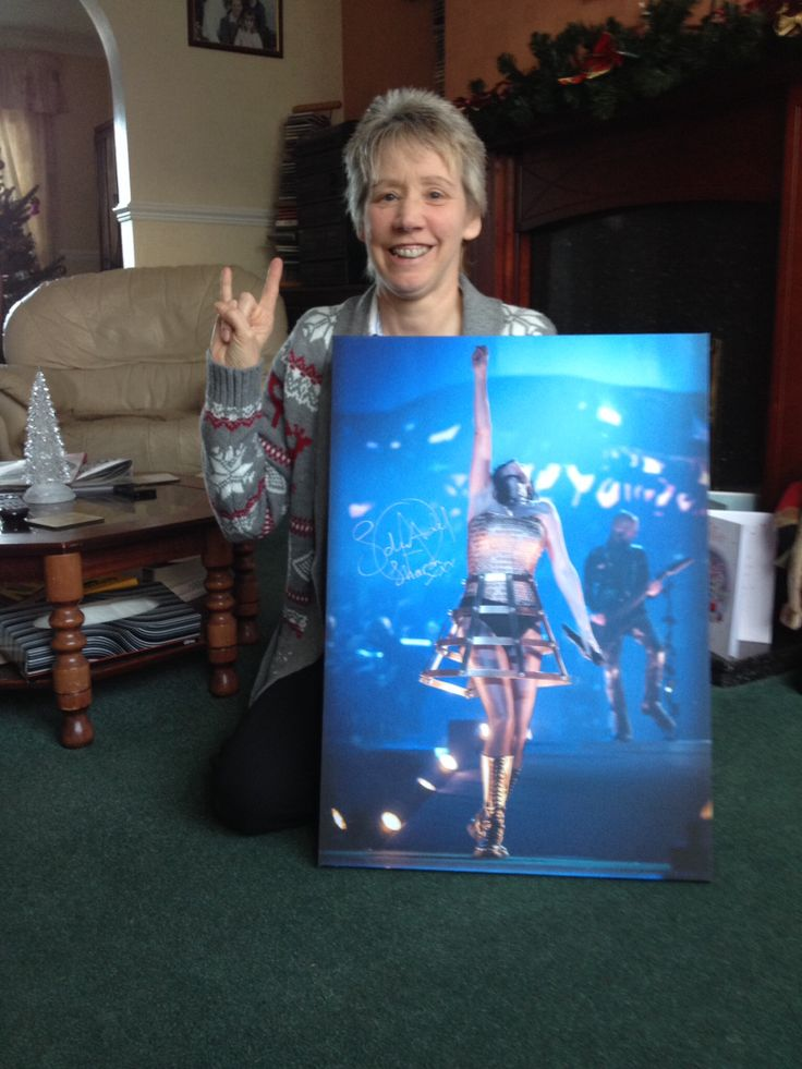 Thank you so much for my prize Within Temptation I love it :-) xx