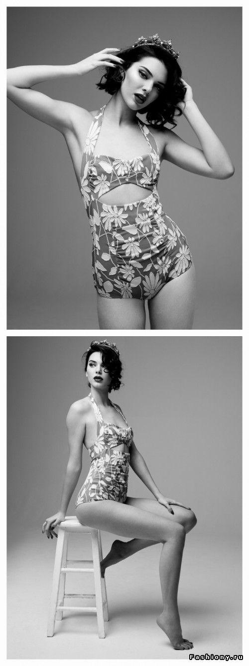 Кендалл Дженнер примерила образ Мэрилин Монро в Love Magazine