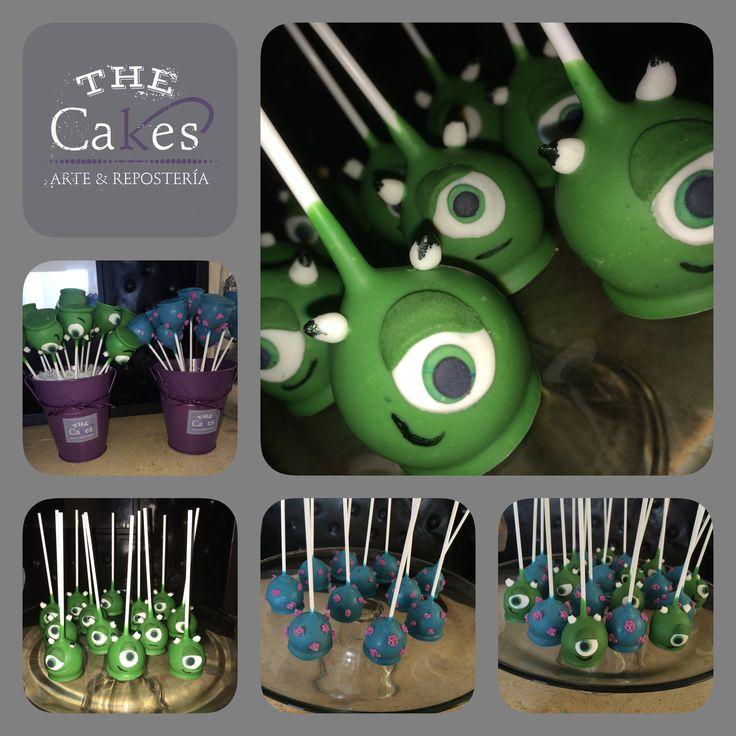 Monster Inc Cake Pops nornasinfo