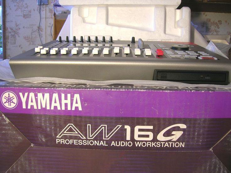 Exc Yamaha AW16G Prof Audio Workstation Digital Mixer CD Recorder W/Box Instr.  #Yamaha