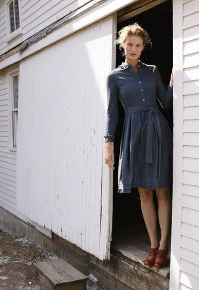 Is there anything more timeless than a simple shirtdress?!?