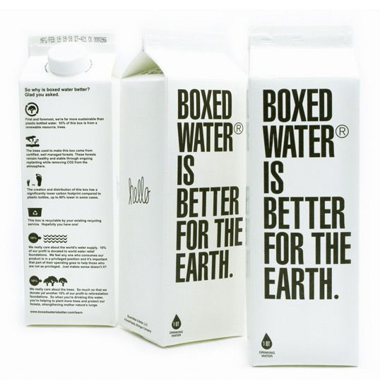 #package design, #design: Graphic Design, Idea, Boxed Water, Package Design, Stuff, Product Design, Better, Packaging Design, Products