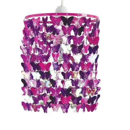 Butterfly Windchime Pendant #dunelm #home #pantone #radiantorchid