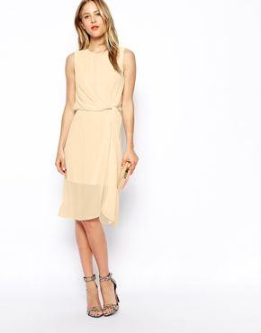 ASOS Drape Midi Dress