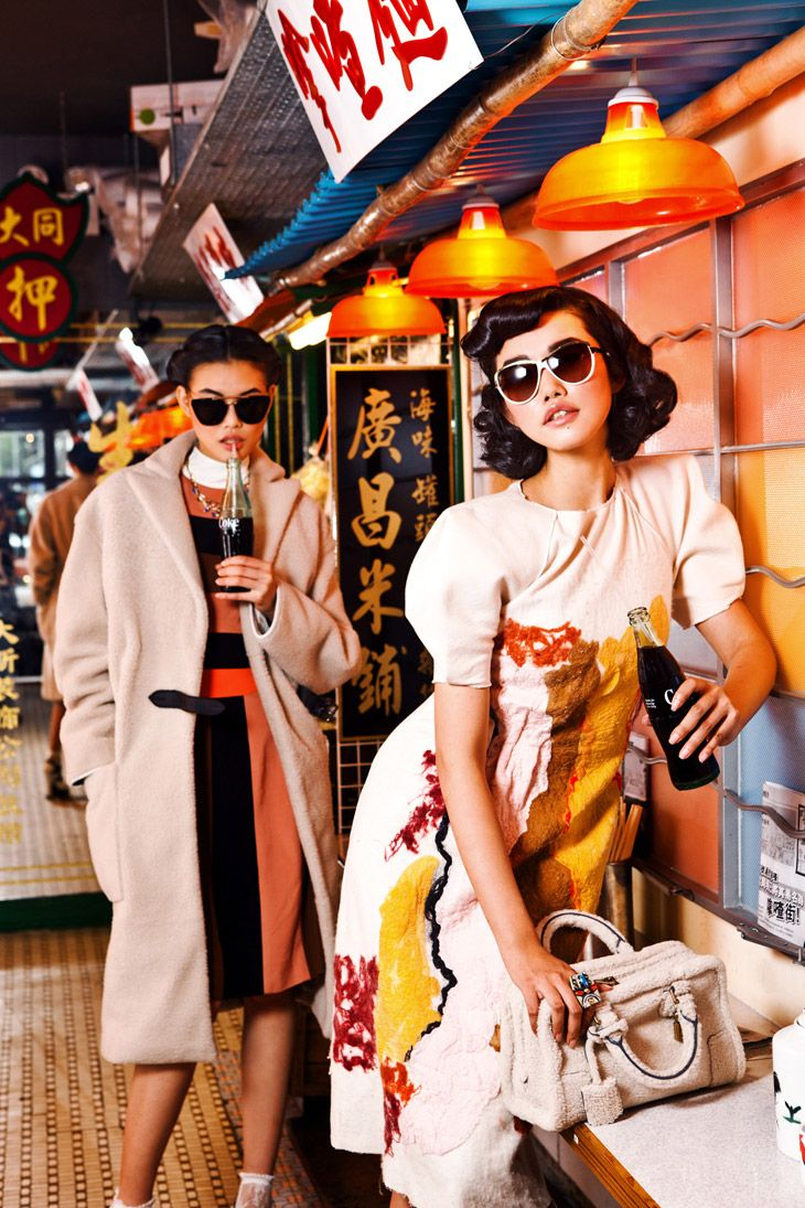 Liu Dan & Chen Lin for Baccarat Magazine by Man Tsang I would've framed it differently, but you get the idea.
