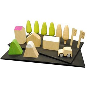 machi landscape set: Ville Aimanté, Chalkboards, Machi Jouet, Wooden Toys, Children Toys, Machi Wooden, Toys Sets, Aimanté Kiko, Kids Toys