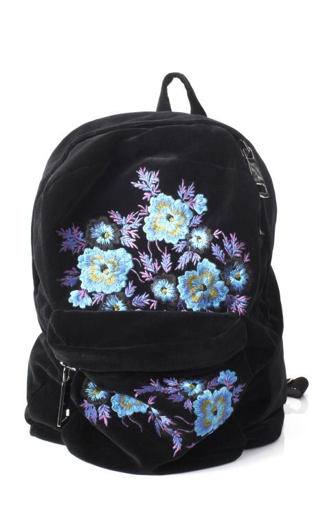 Christopher Kane floral backpack @Emily Schoenfeld Schoenfeld Schoenfeld Schoenfeld Schoenfeld-Ann Murray stylish b-pack?