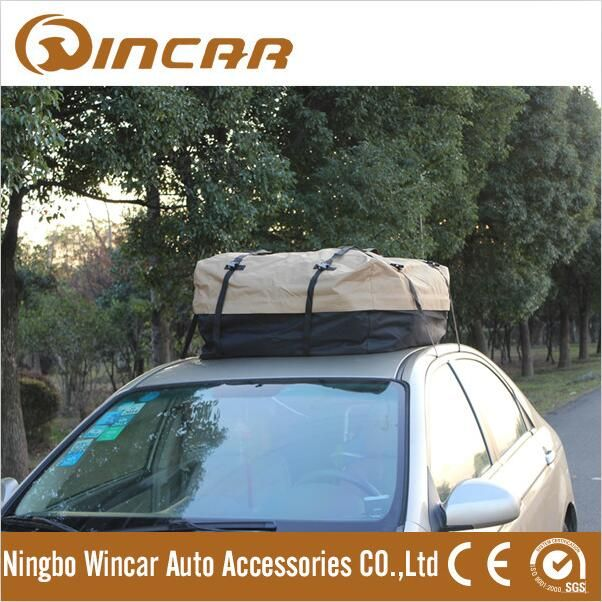 """600D Oxford Fabric Car Roof Bag for Touring Travel,Car Roof Luggage Carrier"""