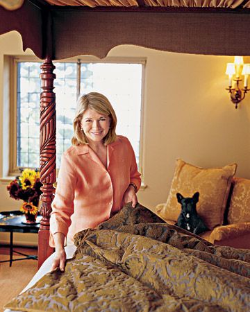 Free printable from Martha Stewart for six things to do every day to keep up your home.