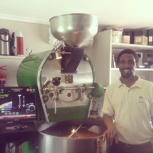 Mr Mzuksii Xhati our Master roaster
