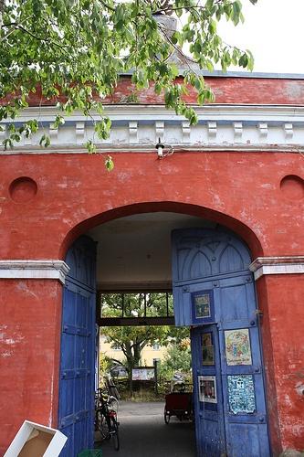 Christiania free community, squatted former NATO base, near København (Copenhagen), Denmark