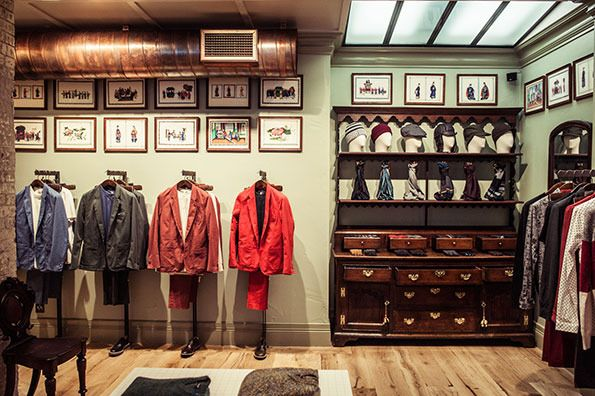 Paul Smith store at 46 Beak Street