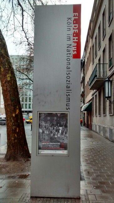 E - DE HAUSMuseu da Gestapo - Colônia/ Alemanha 01/2017