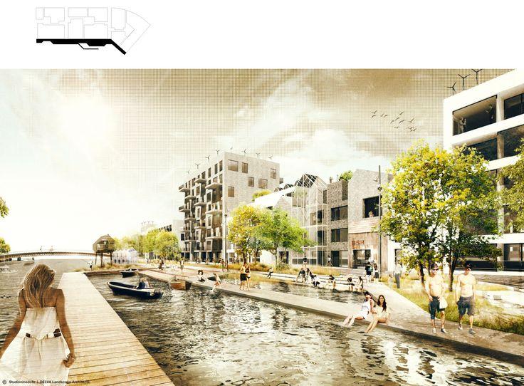 Dynamic Masterplan Buiksloterham 2014 - Amsterdam - DELVA Landscape Architects - Studioninedots