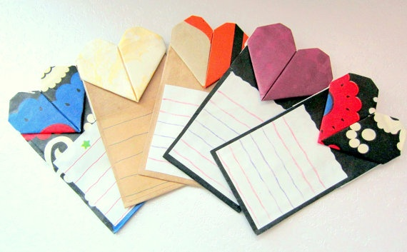 Eco-friendly Luv the Tree NoteCard, Message/Greeting Card & Bookmark