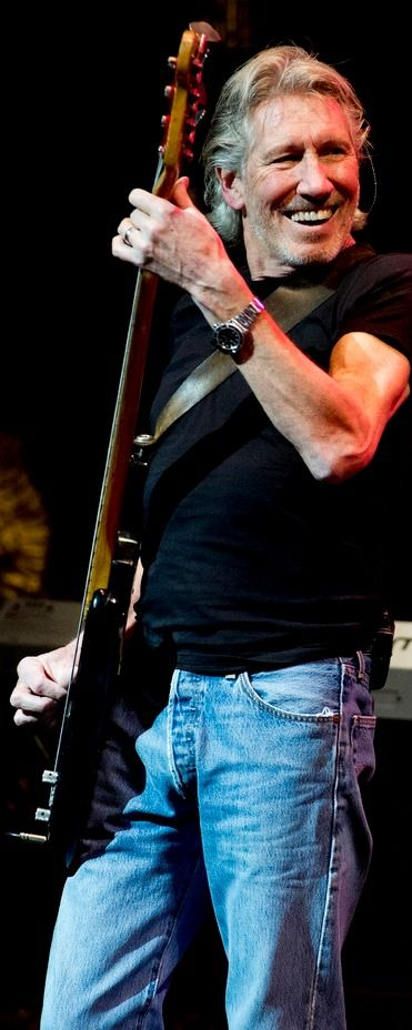Roger Waters - I'm willing to post him in my guitar players group because he does play some guitar and wrote most of the amazing lyrics for the Pink Floyd albums I love. Also, he has been mending walls with David Gilmour after the fiery official leaving of the band in 1985. His retooling of The Wall tour in 2010 was the best concert I've ever attended.