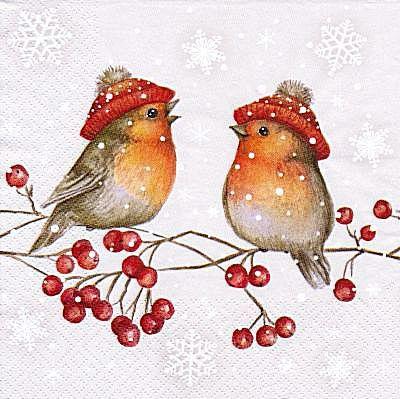 Зимние птички - Схемы вышивки - Miss_Ikss - Авторы - Портал «Вышивка крестом»