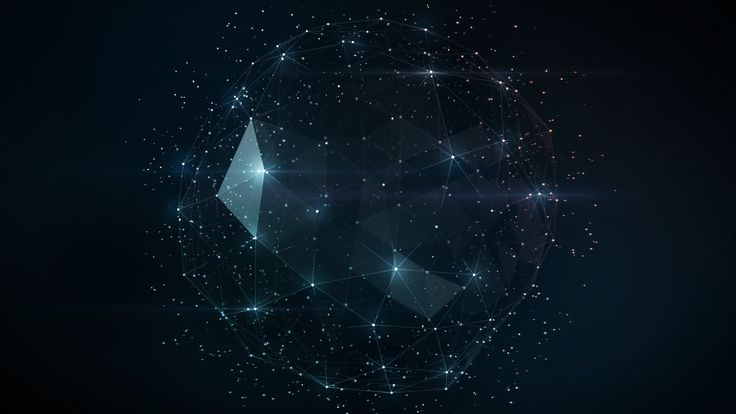 Geometric Dark Wallpaper High Resolution Wallpaper Full Size