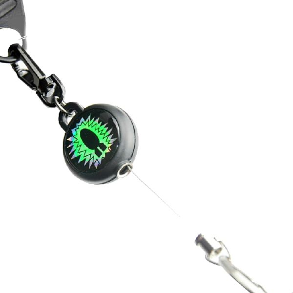 Reels Badge Steel Wire Retractable Buckle Key Chain Anti-theft