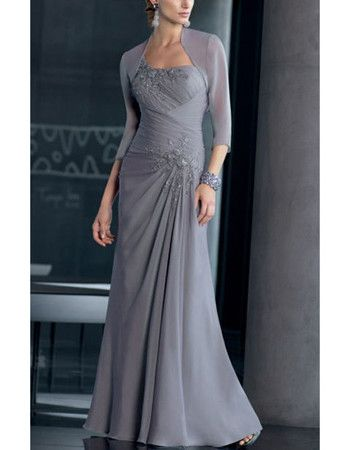 Discount Mother of Bride Dresses | ... two-piece long chiffon mother of the bride dresses US$ 0.00 US$ 149.95