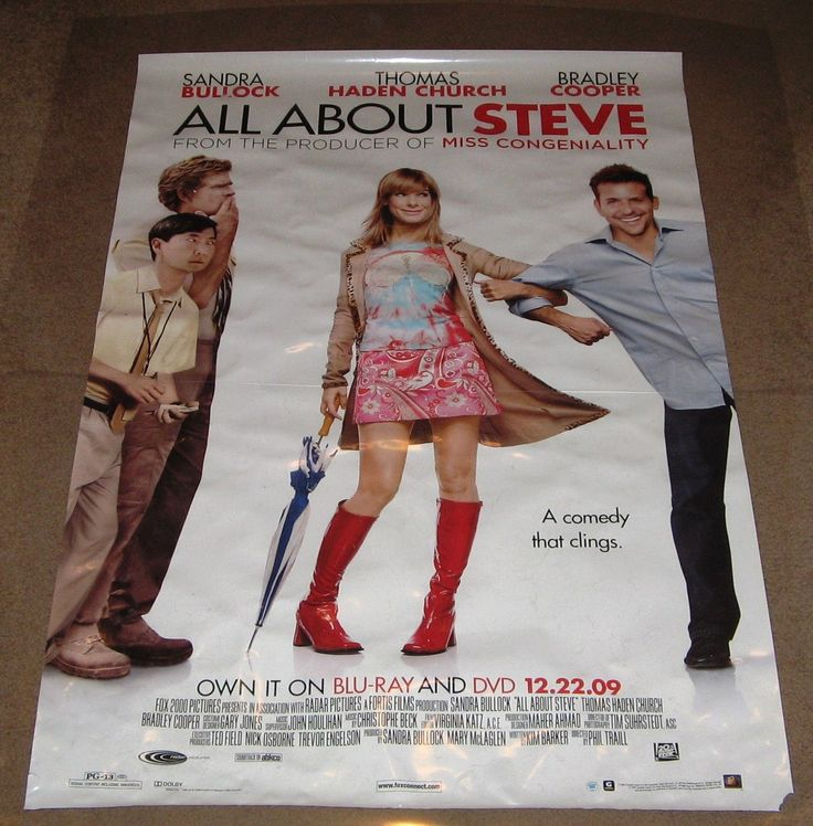 All About Steve Movie Poster 27x40 used