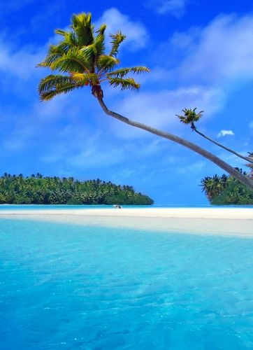 Matira Beach, Bora Bora Island, French Polynesian Island