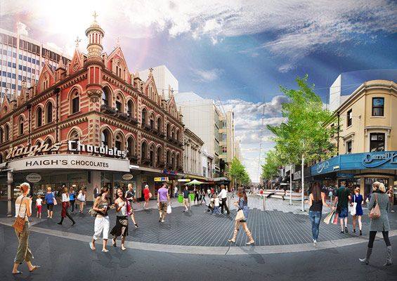 Rundle Mall Redevelopment | Adelaide Australia | HASSELL