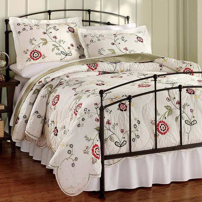 just found this wrought iron beds cottage wrought iron bed orvis on - Iron Bed Frame Queen