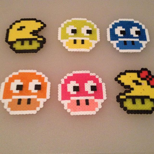 1719 best images about hama on perler