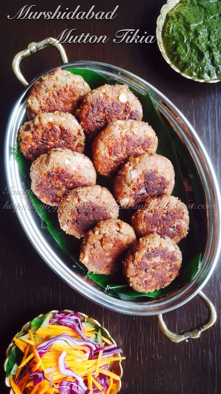 Goat liver with dill leaves indian kitchen cooking recipes - My Tryst With Food And Travel Murshidabad Mutton Tikia Recipe Mutton Mince
