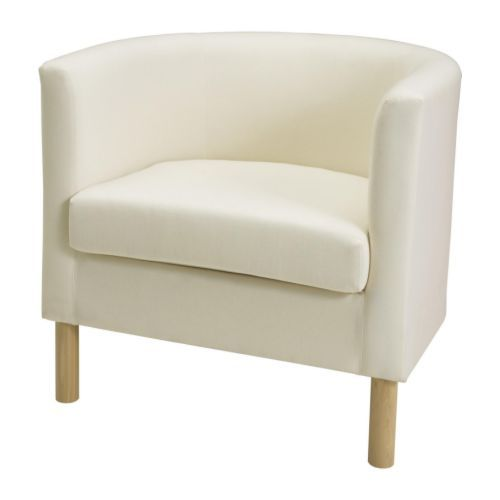 Put neutral throws (brown, tan) & cushion on it, plus strategically place angled in corner of room next to floor lamp & side table - reading chair!!   SOLSTA OLARP Poltrona - Ransta naturale - IKEA .......... i wonder if one of these would fit