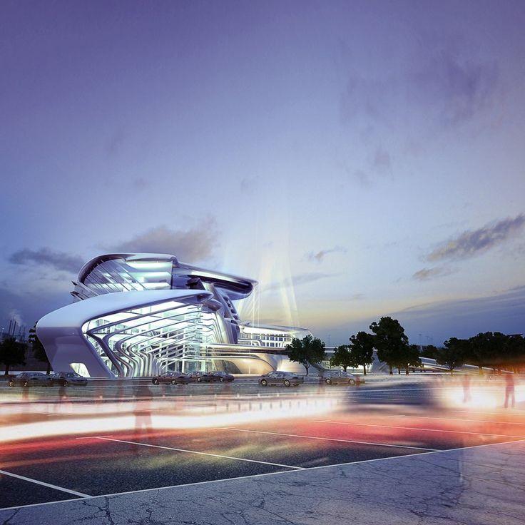 Center for Development of Innovative Transportation Technologies / KO+KO Architects