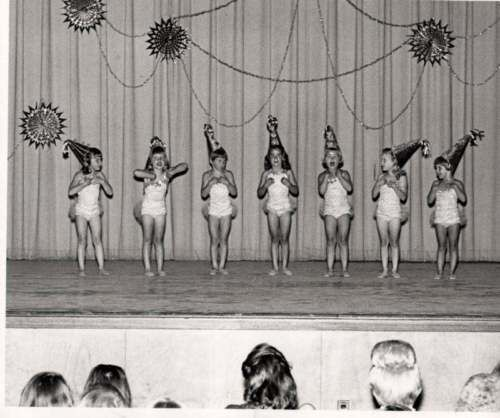 Little girl dancers on stage with Big cone hats Vintage Dance photo 50s in Collectibles, Photographic Images, Contemporary (1940-Now), Other Contemporary Photographs | eBay