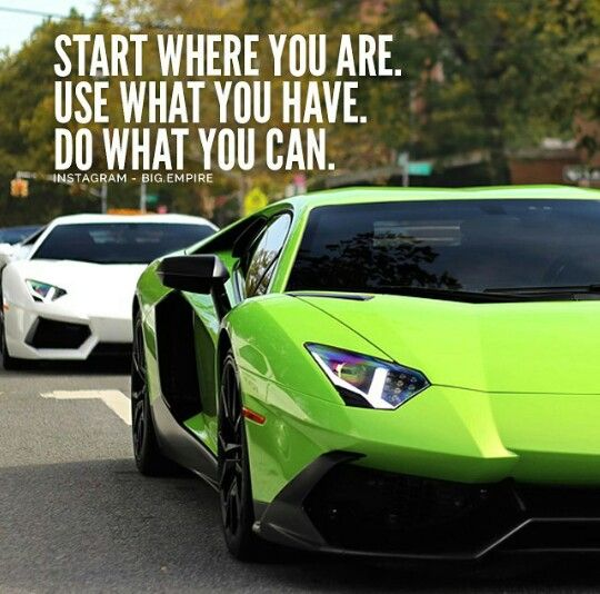 Use what you have...