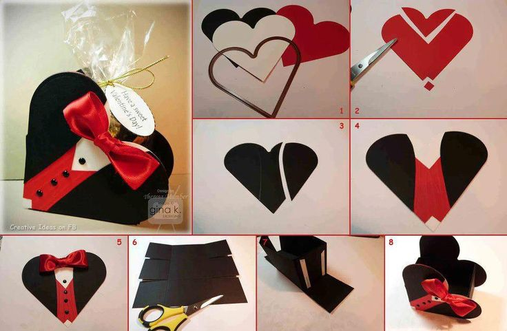 اشغال يدوية بالورق: Little Boxes, Gifts Ideas, Gifts Packs, Boxes Gifts, Valentines Day, Diy Projects, Gifts Boxes, Heart Boxes, Heart Cards