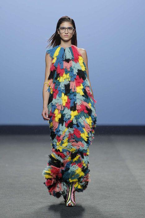 Maria Escote, Automne/Hiver 2017, Madrid, Womenswear