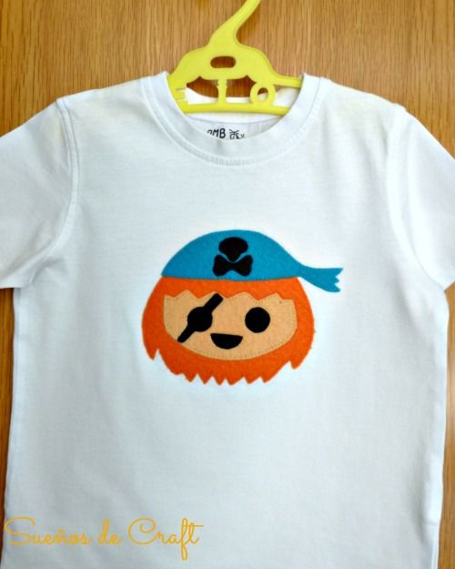 Camiseta pirata Playmobil