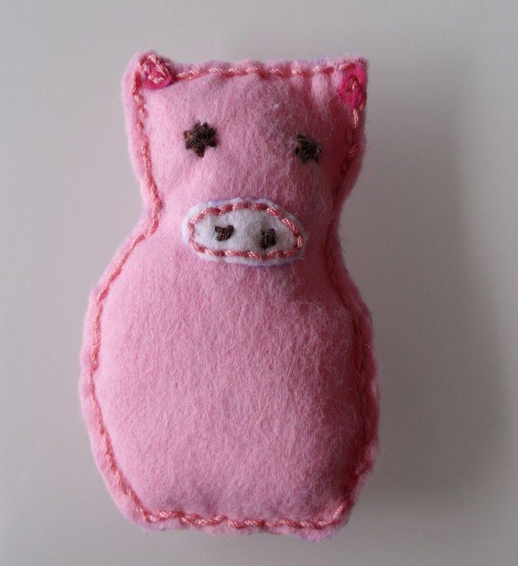 Mini DIY: Glücksschweinchen