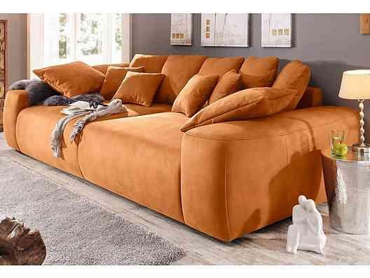 24 best big sofa images on Pinterest Big sofas, Couches and Sofa - Wohnzimmer Grau Orange