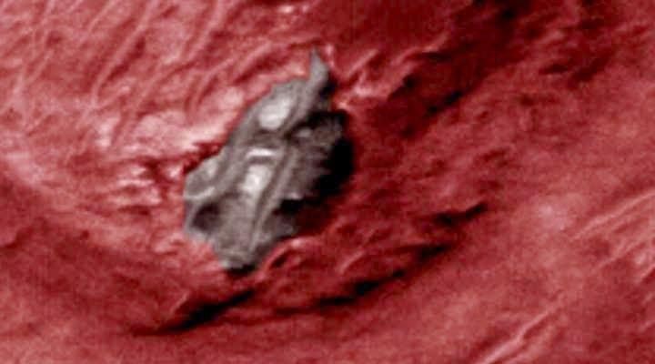 Alien Structure Found On Mars