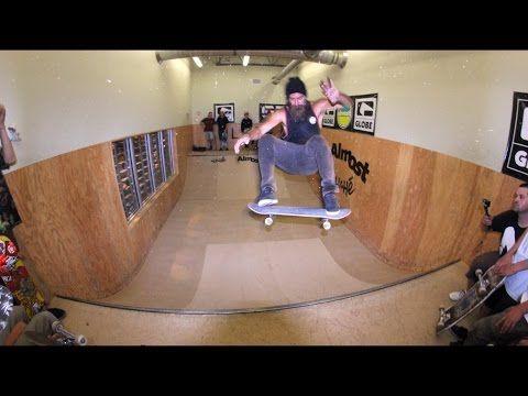 Chris Haslam, Daniel Espinoza and Paul Hart Skating the S3 Miniramp! - YouTube