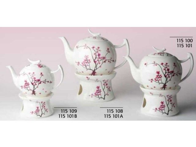 chacult teapots | TeaLogic Cherry Blossom stoofje voor 1,5 Liter theepot