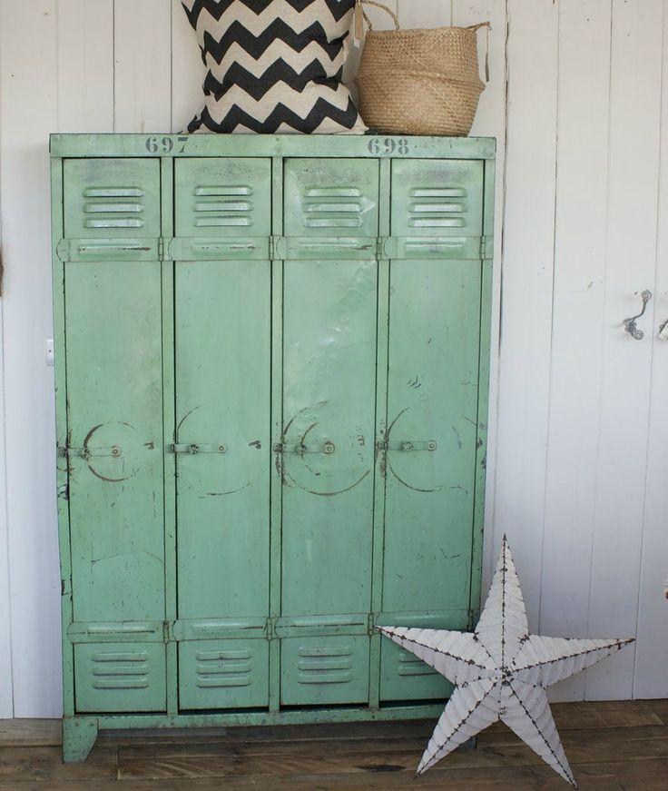 Design Vintage Industrial Lockers