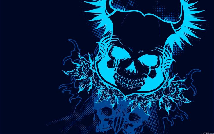Blue Skull Live Wallpaper Android Apps on Google Play | Abstract HD Wallpapers 3
