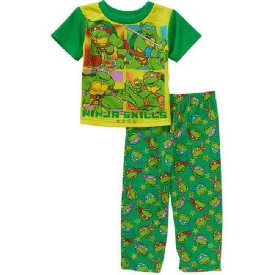Boys 2pc TMNT Teenage Mutant Ninja Turtles Pajamas set New with Tag Size 4T Kids #Nickelodeon #PajamaSets