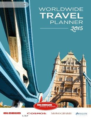 travel brochure covers