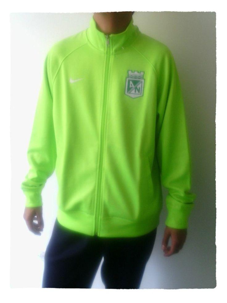 Chaqueta Nike Verde Algodón Atlético Nacional 2014