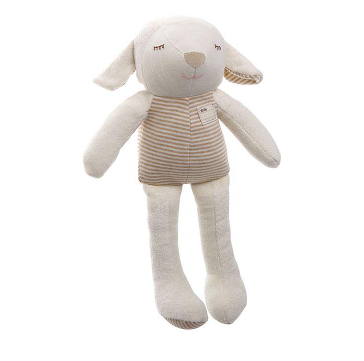 Organic Lamb Toy Doll Baby Kids Gift No Skin Problems Eco Safe Soft Sleep Toys #MinkElepang #PetsAnimals