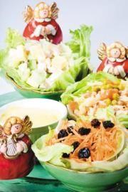 Ensalada de zanahoria, pasitas y nueces - Recetas