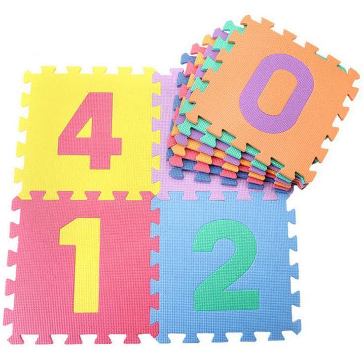 Baby Puzzle Play Mat Foam Floor Soft Kids Toy Interlocking Crawling Alphabet RL #BabyPuzzle